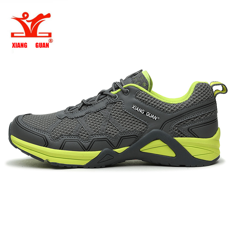 цены  New Style XIANG GUAN Man Running Shoes Mesh Athletic Trainers Walking Breathable Men Outdoor Sports Shoe Sneakers EUR size 39-45