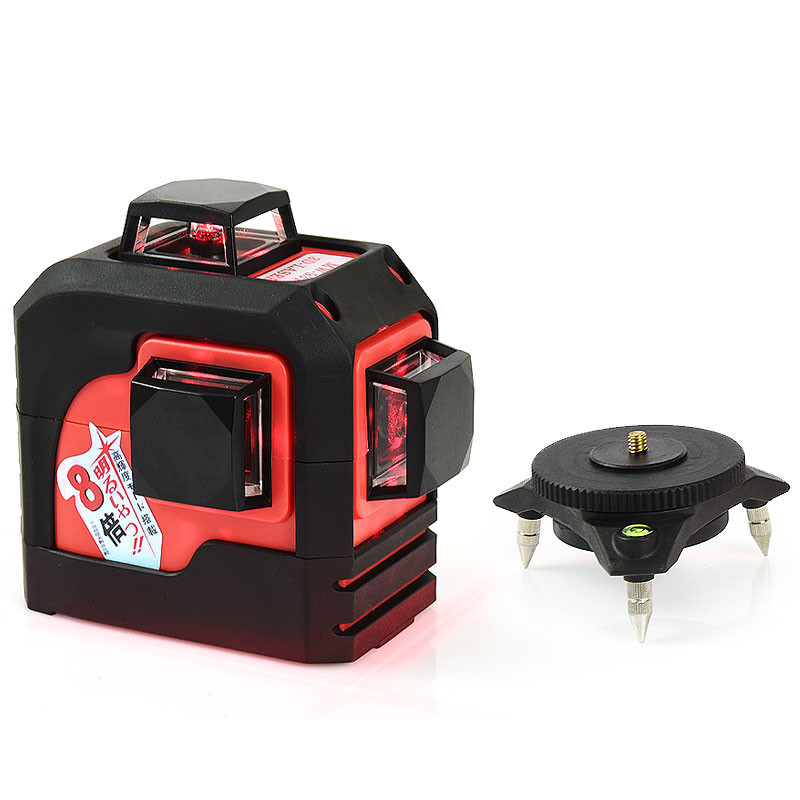 Fukuda 12Lines 3D 93T Laser Level Self-Leveling 360 Horizontal And Vertical Cross Super Powerful Red Laser Beam Line fukuda mw 99t 12lines 3d laser level self leveling 360 horizontal and vertical cross super powerful red laser beam line