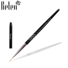 Belen Liner Brush Pen Nail Art Brush Nail Gel Polish Design Brush Pens Madicure Painting Drawing Tools Set Kit