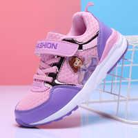 Dzieci buty dla dziewczyny wiosna dziewczyny sneaker maluch princesa sofia sport sapatos crianca buty sportowe sportowe dla dzieci dziecko fille