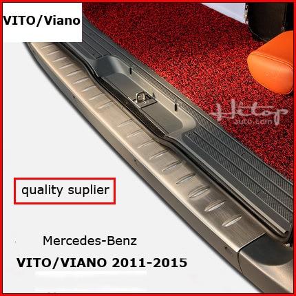 ФОТО for VITO Viano 2011-2015 door sill,threshold scuff plate,rear bumper prorector, ISO9001 quality,HITOP-5years' SUV experiences