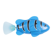 Funny Fish Robotic Swimming Robofish Activated Battery Electronic Powered Robo Fish font b Toy b font