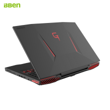 Bben G17 gaming laptop computer NVIDIA GTX1060 Intel i7-7700HQ Gen. Kabylake 17,3 zoll pro windows10 lizenzierte DDR4 RAM