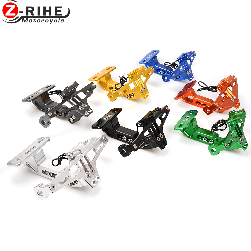 motorcycle accessories Universal Fender Eliminator License Plate Bracket Ho Tidy Tail for Honda Cbr900rr Vtx1300 Nc700 Cb919 Mag aftermarket free shipping motorcycle parts eliminator tidy tail for 2006 2007 2008 fz6 fazer 2007 2008b lack