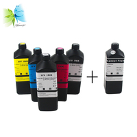 Tinta UV Winnerjet para Epson TX800 XP600 V540 cabezal de impresión  BK C M Y barniz blanco