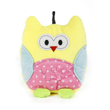 Plush Squeaky Toy For Pets Dog Cats Cute Owl Doll Toy Make Sound Animal Doll Pets Products Four Colors 21CM