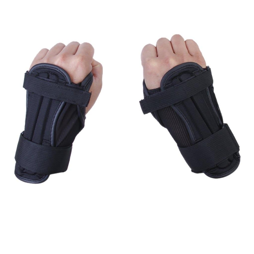 Hot 1 Pair of Kids Sport Snowboard Ski Protective Glove Wrist Support Guard Pads Brace S