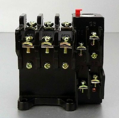 53-160A Current Rating 160A 1 NO 1 NC 3 Pole Thermal Overload Relay max 660V 2 pin thermal overload protection