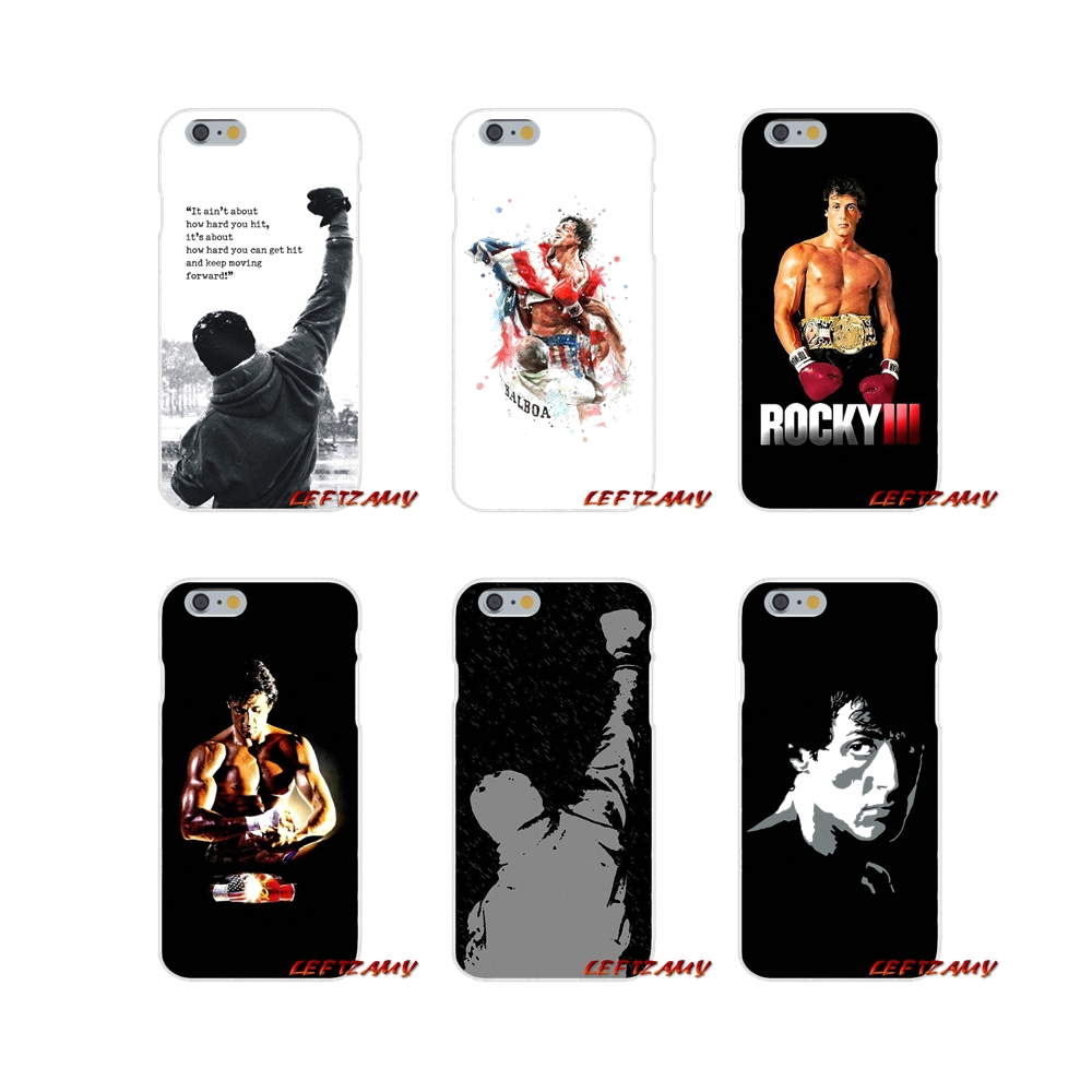 Us 0 99 Mobile Phone Shell Cover Motivational Words Art Rocky Balboa For Iphone X Xr Xs Max 4 4s 5 5s 5c Se 6 6s 7 8 Plus Ipod Touch 5 6 In