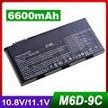 9 ячеек Батареи Ноутбука Для MSI BTY-M6D E6603 GT60 GT660 GT663 GT670 GT680DX GT680 GT683 GT685 GT760 GT70 GT780 GT783 GX660 GX60