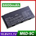 9 células Bateria Do Portátil Para MSI GT660 E6603 GT60 BTY-M6D GT663 GT670 GT680 GT683 GT680DX GT685 GT760 GT70 GT780 GT783 GX660 GX60