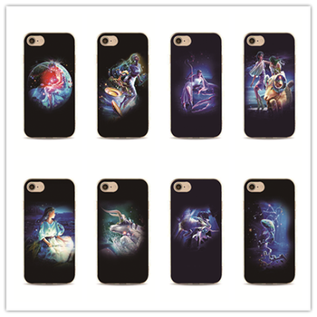 phone case chinese zodiac sign cover for iPhone 7 plus 4 4s 5 5s 5c se 6 6s for Samsung Galaxy S5 S4 S6 S7 edge Housing messenger bag