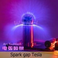 Super Mini Artificial Lightning Generator Tesla Coil High Conversion Efficiency Scientific Experimental Equipment