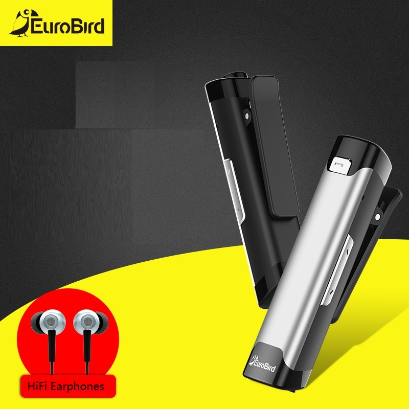 Eurobird Bluetooth Earphone for Phone Wireless Noise Cancelling Earphones with Microphone Bass Bluetooth Wireless Headset