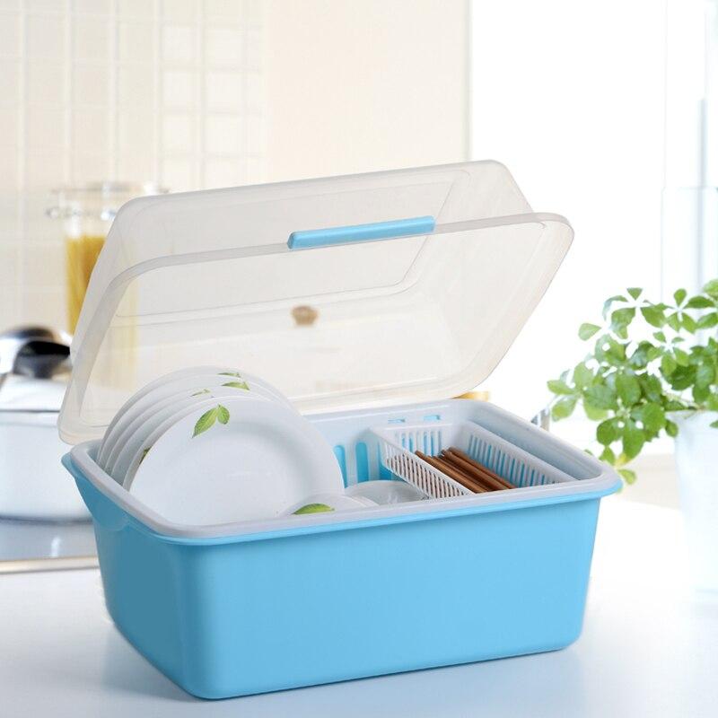 tahun baru Bowl mangkuk rak penyimpanan kotak wankuai longkang rak rak rak tudung rak mangkuk rak mangkuk besar
