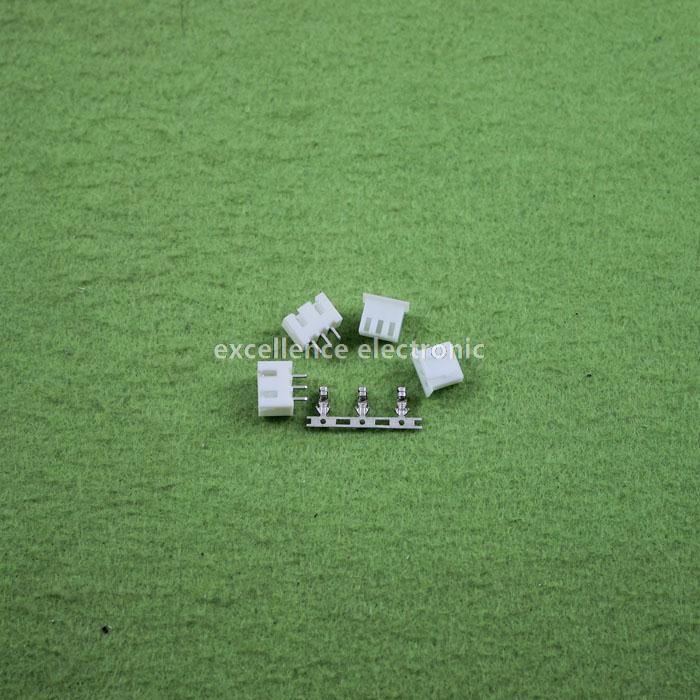 500sets/Lot 3 Pin Connector Leads Header 2.54mm XH-3P Kit Housing Pin header Terminal Free Shipping free shipping 5 sets lot upper
