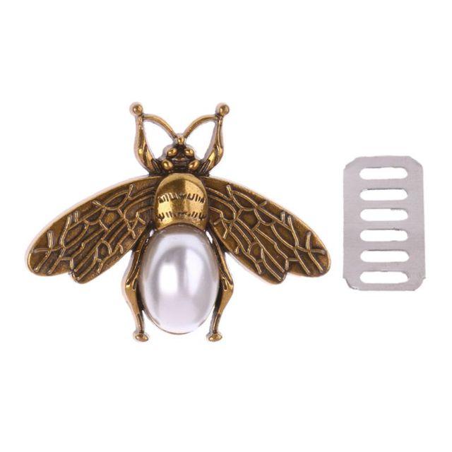 Fashion New 1 Pc Bee Metal Bag Decoration for DIY Shoulder Bags Casual Tote Messenger Handbag Accessories 1