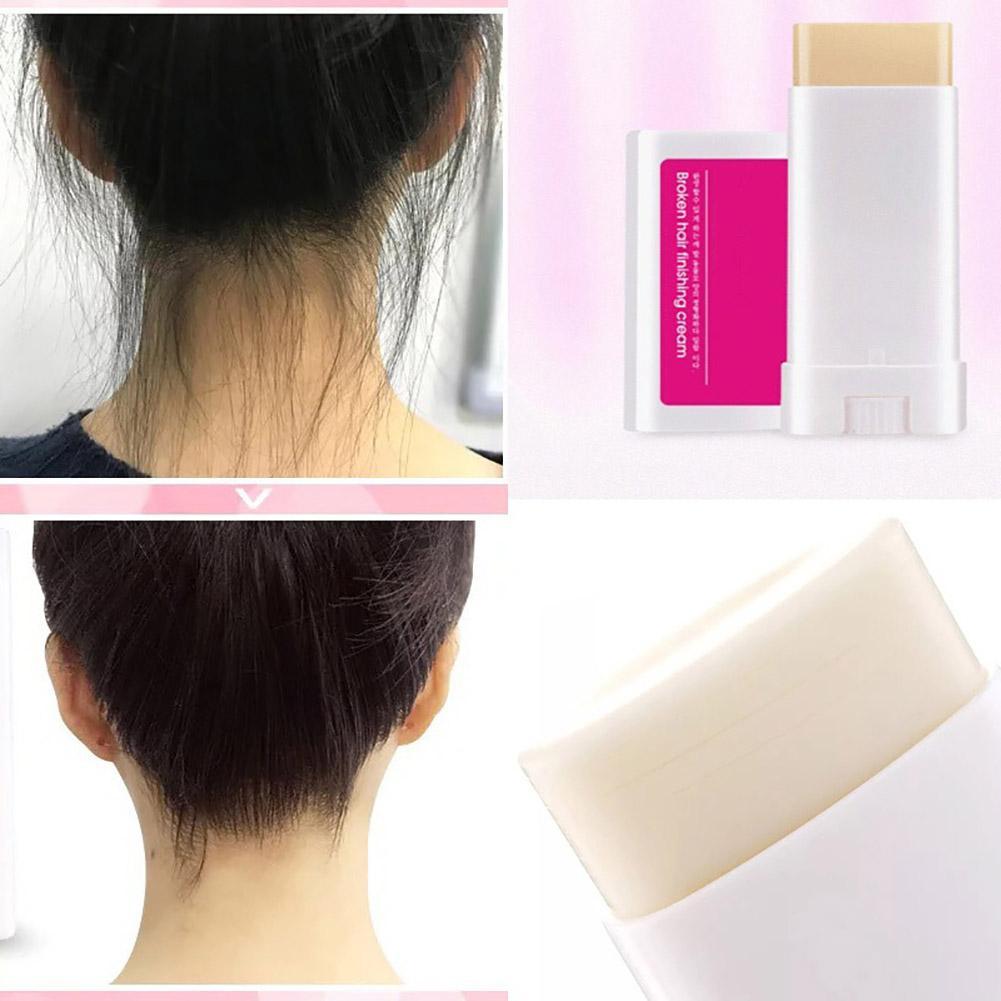 Newest Practical Women Men Small Broken Hair Care Refreshing Styling Fishing Cream Wax