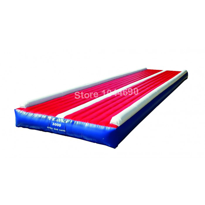 12*3m tumble track inflatable air mat for gymnastics with free shipping free shipping 12 2m inflatable tumble track trampoline air track gymnastics inflatable air mat come with a pump