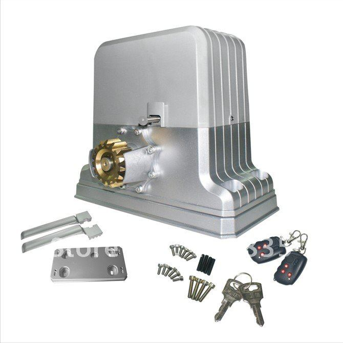 Electric gate motor with remote control and alarm system 1800KG -in ...