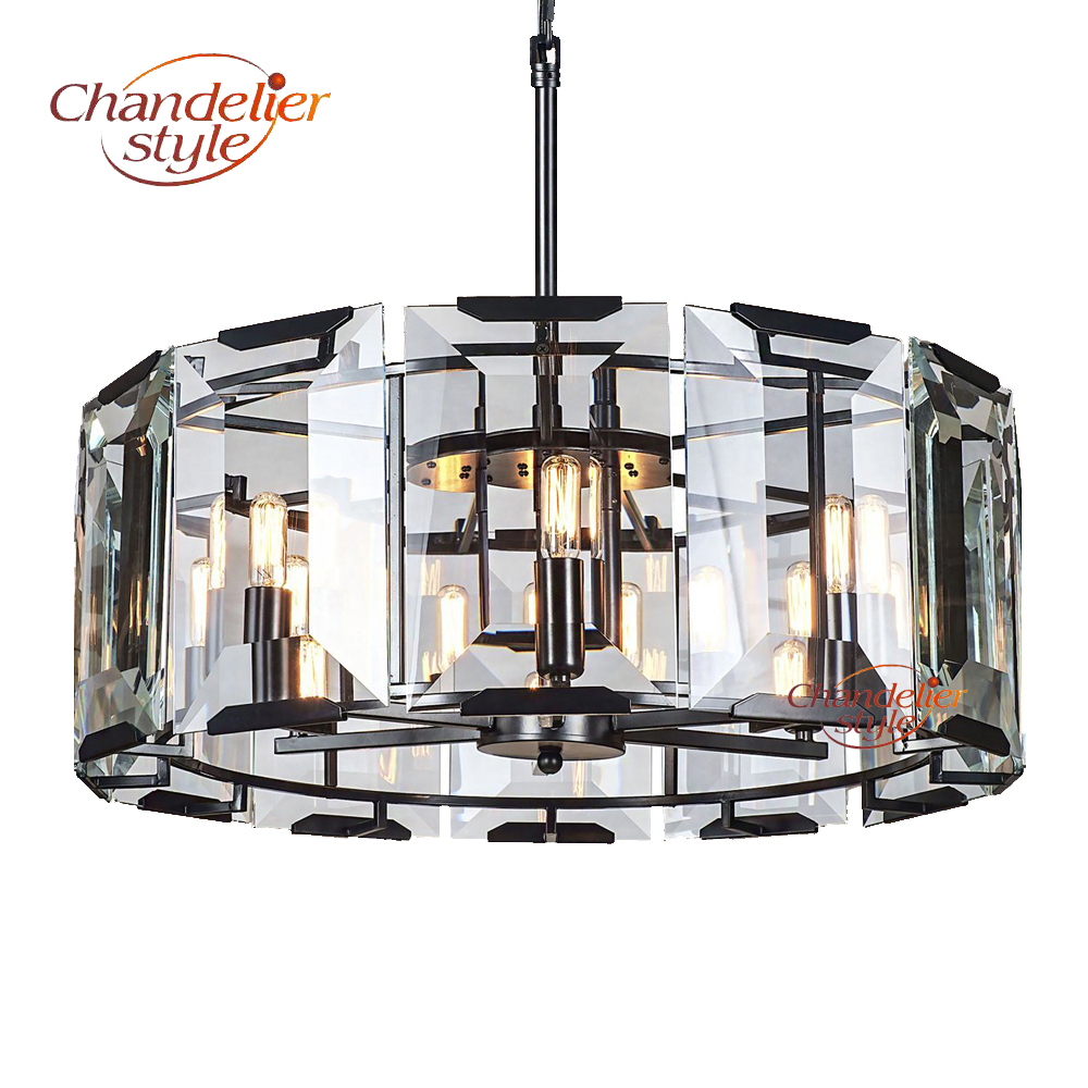 Post Modern K9 Crystal Chandelier Lighting Luxury LED Cristal Chandelier Contemporary Hanging Light for Home Restaurant Decor
