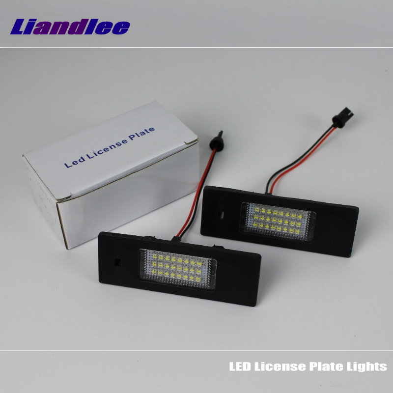 Liandlee For Renault Megane 1 I 1995~2002 / LED Car License Plate Lights / Number Frame Light / High Quality LED Lamp renault megane coupe 1999