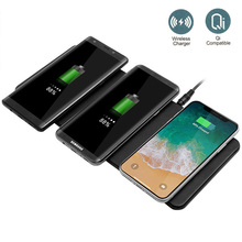 EtopLink Qi ultra-thin 3 in 1 wireless charger Mouse Pad mul