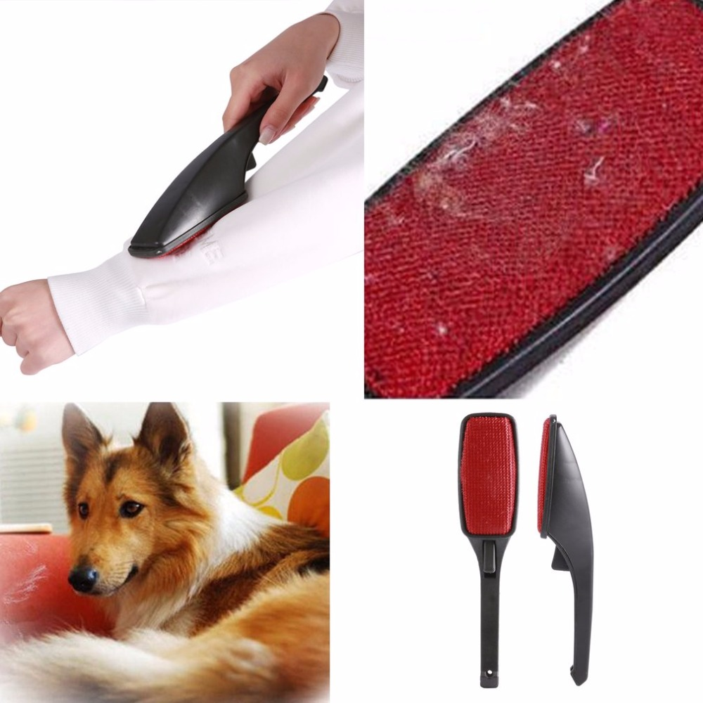 AMW Static Brush Clothes Magic Lint Dust Brush Pet Hair Remover Clothing Cloth Dry Cleaning with Rotatable Brush Wholesale