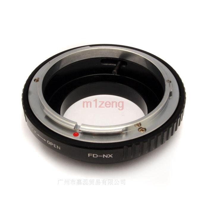 FD-NX lente fd a NX montaje anillo adaptador para Samsung NX5 NX10 NX11 NX100 NX200 Cámara