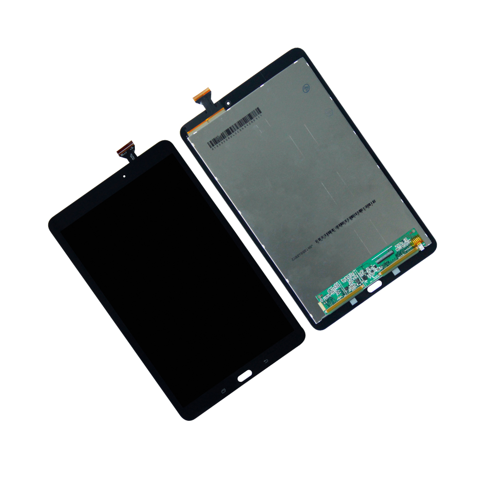 Touch Screen Digitizer LCD Display For Samsung Galaxy Tab E 9.6 SM-T560 SM-T560NU Assembly Tablet Panel LCDs Combo Repair Parts 10pcs lot lcd display touch screen digitizer assembly replacement for zte grand x memo ii 2 m901c high quality mobile phone lcds