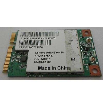 Wireless Adapter Card for BROADCOM BCM4312 BCM94312 Mini PCI-E for lenovo G430 G450 Y430 Y450 E43 60Y3220 43Y6488 43Y6489