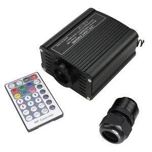 Image 3 - 16W RGBW LED fiber optic Star Ceiling Kit lights 200/300/350/450pcs *0.75mm with 2M  Optical fiber for star sky ceiling