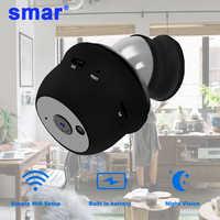Smar ip cámara mini cámara wifi HD Sensor visión nocturna pequeña videocámara TF ranura para tarjeta detección de movimiento P2P vista en la nube