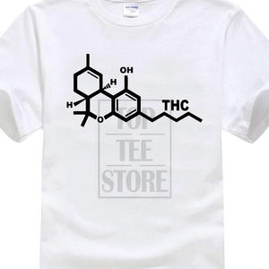 ec1178dc6 Chemical Smoke Weed Normal Short Sleeve Cotton T Shirts Men