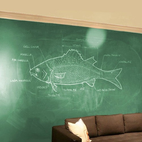 pvc environmental teaching blackboard chalkboard removable black
