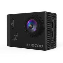 SOOCOO C30 Cámara de Acción Wifi 4 K Gyro ángulos de Visión Ajustables (70-170 Grados) 2.0 LCD NTK96660 30 M Cámara Impermeable Del Deporte