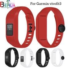 Strap For Garmin Vivofit 3 Soft silicone Watchband Sport watchband Bracelet wrist Replacement personalized strap wristband