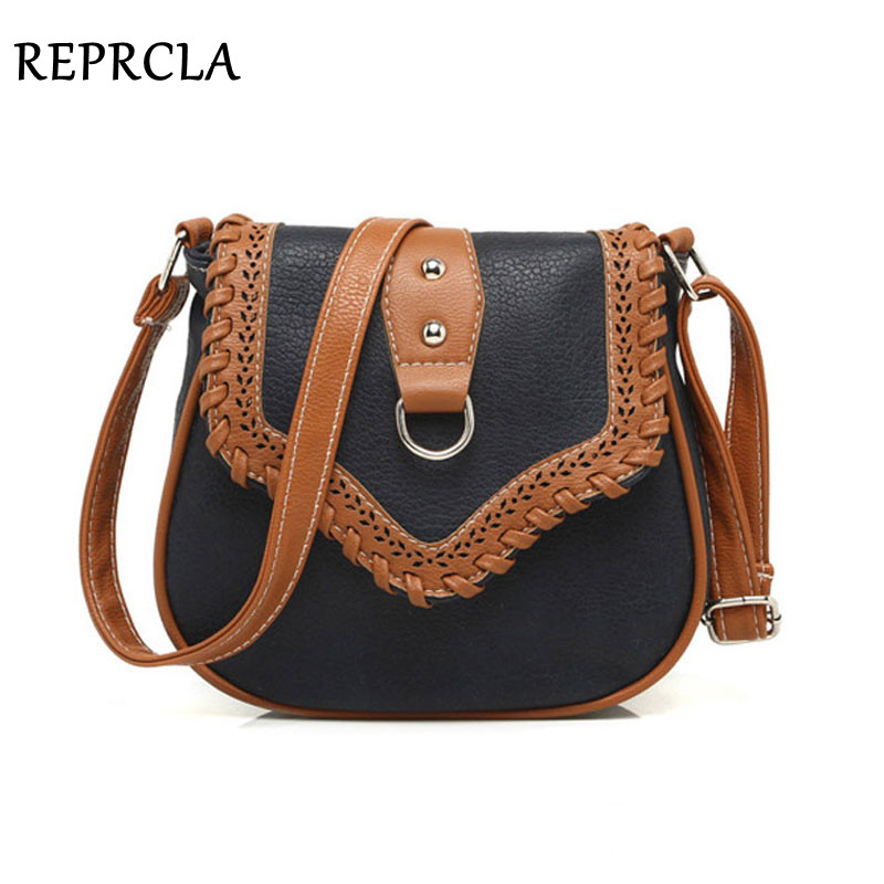REPRCLA New Fashion Women Bag Designer Leather Handbags Women's Messenger Bags High Quality Ladies Shoulder Bag Crossbody A391 hanup new high quality women clutch bag fashion pu leather handbags flap shoulder bag ladies messenger bags crossbody purse