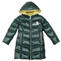 Winter 2016Luxury Brand Warm Kids Down Coats Long Design For Big Children Girls Winter Jacket For 5 Age Jackets& Parkas 2296