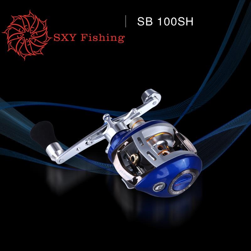 FREE SHIPPING SBR/L10A water drop wheel Magnetic brake fishing reel 5 shaft Fishing force 4kg raft wheel Super light lure wheel