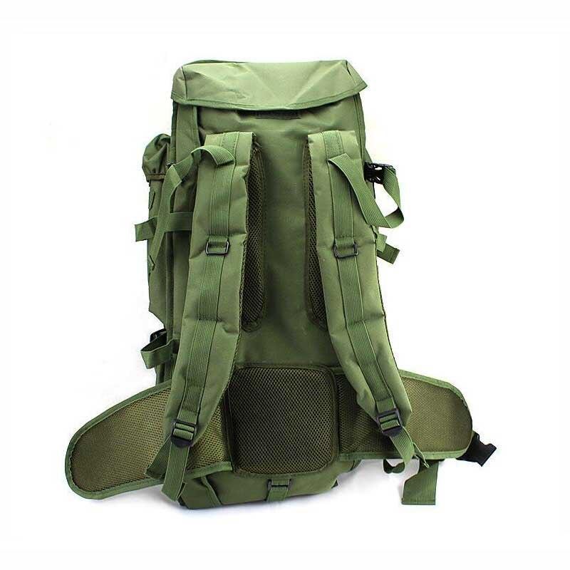Вместительная Спортивная походная сумка для мужчин, военный тактический рюкзак для альпинизма, кемпинга, охоты, рыбалки, путешествий - 3