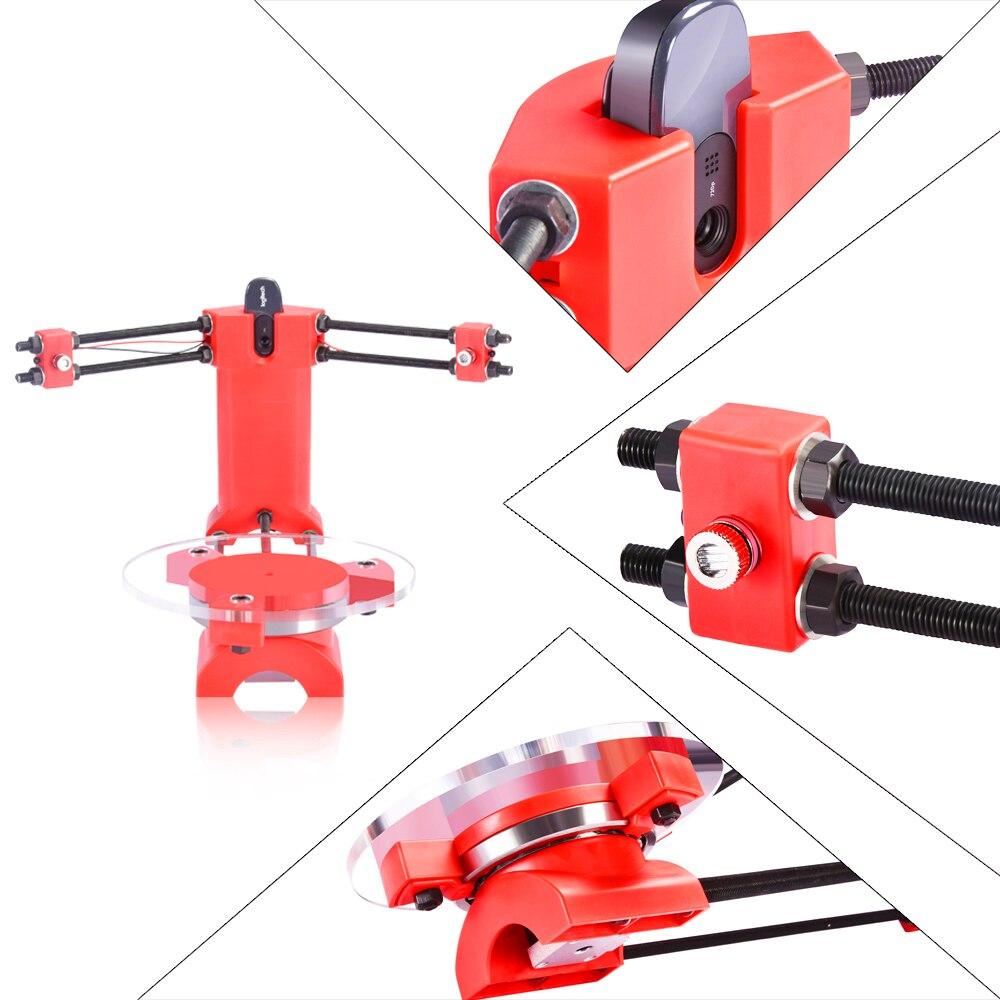 3D Scanner DIY Laser Kits erweiterte laser scanner 3d Open source Tragbare Rot kunststoff spritzguss teile Für 3d drucker