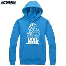 2019 Mens Winter JOIN THE DIVE SIDE Funny Printed Sweatshirts Tracksuit For Men Clothes Unisex Casual Anime Hoodie Pullover