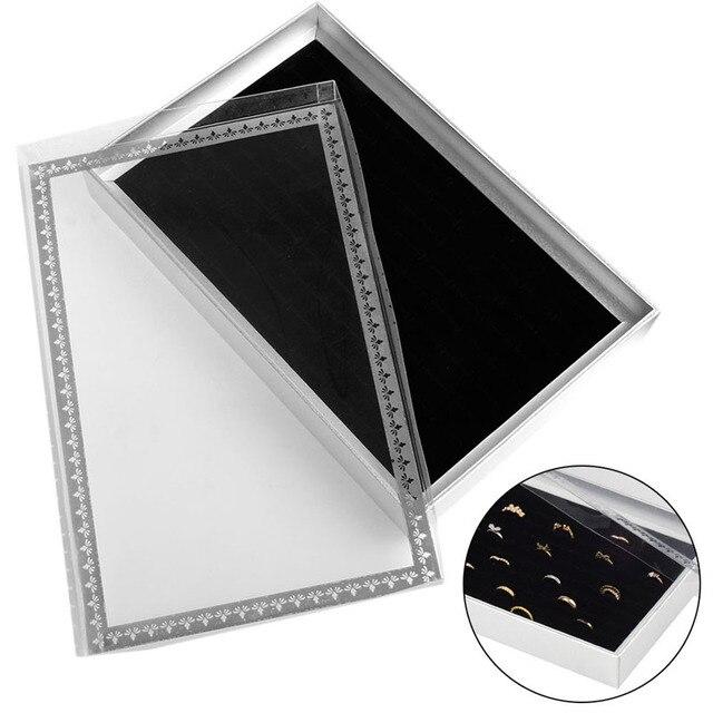 Aliexpresscom Buy 100 Ring Jewellery Display grey Storage Box