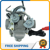 24mm PD24J Motorcycle Carburetor 24 Carb For GY6 125cc 150cc ATV Go Kart Moped And Scooter
