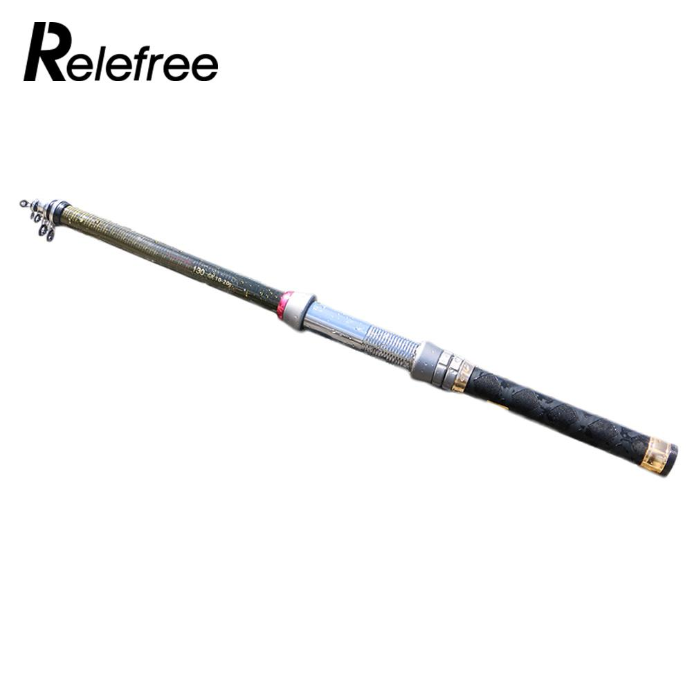Carbon Fiber Pocket Size Entertainment Gift Fishing Tackle Telescopic Rod Portable Ocean Rock Fshing Sea Pole Lightweight
