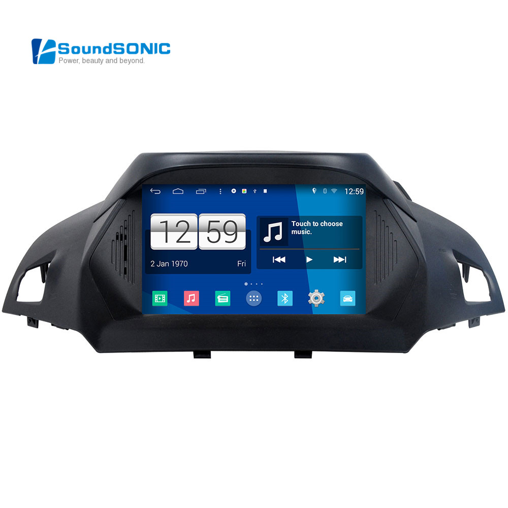 for ford kuga escape 2013 android 4 4 autoradio gps navigation nav car media dvd player radio. Black Bedroom Furniture Sets. Home Design Ideas