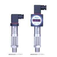 High temperature type pressure transmitter 0 290psi pressure range sensor with display