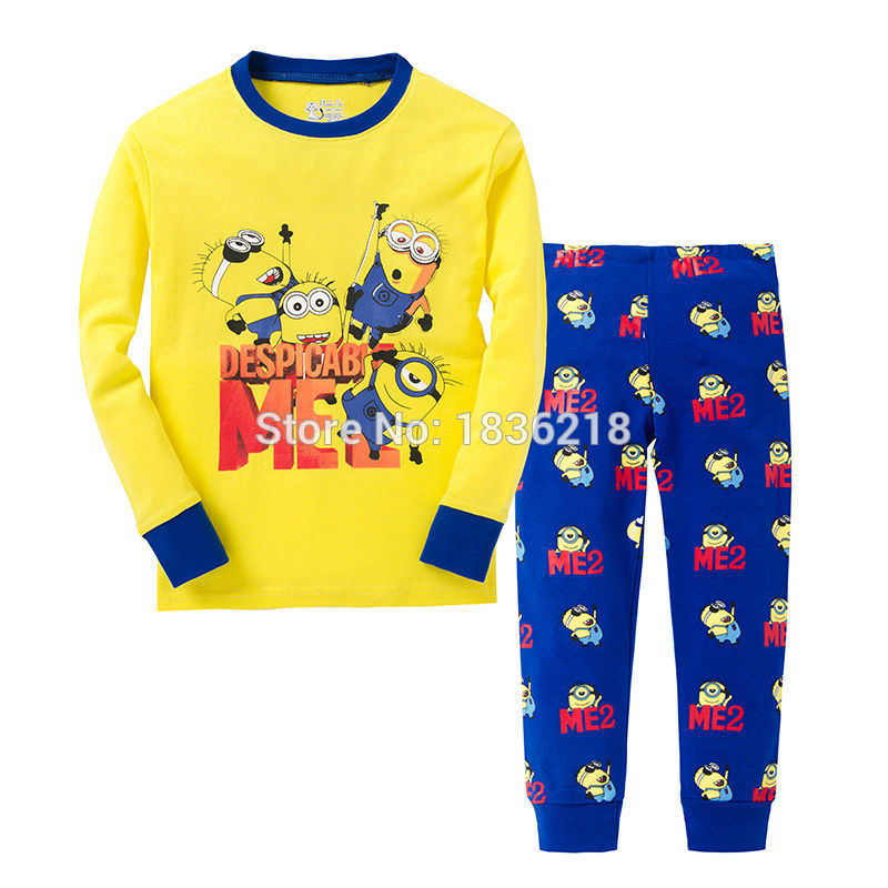 Aliexpress.com : Buy 2015 New Arrival Kids Minions Pyjamas Baby ...