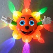 Детские игрушки для младенцев 3d Подсолнухи электрическая игрушка